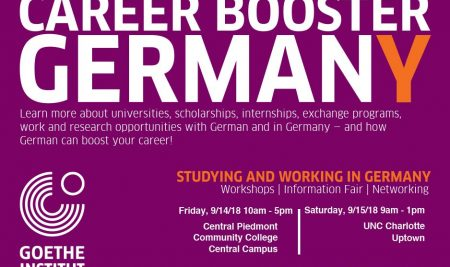 Studying and Working in Germany – Workshops, Information Fair, Networking – Sept. 14